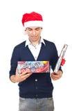 圣诞节礼品人空缺数目 图库摄影