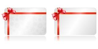 圣诞节礼品券 库存例证