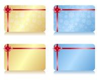 圣诞节礼品券 皇族释放例证