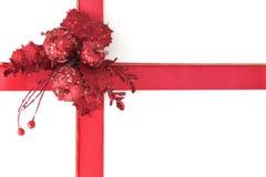 圣诞节礼品包装材料 免版税图库摄影
