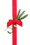 圣诞节礼品包装材料 库存图片