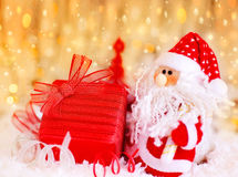 圣诞节礼品圣诞老人 图库摄影