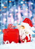 圣诞节礼品圣诞老人 免版税库存图片