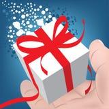圣诞节礼品您 免版税库存图片