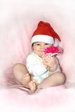圣诞节礼品我对您 库存图片