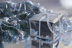 圣诞节礼品新的s年 免版税库存图片