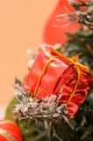 圣诞节礼品新年度 免版税库存照片