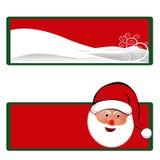 圣诞节礼品标签 免版税库存照片