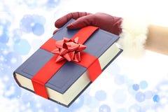 圣诞节礼品的书 库存照片