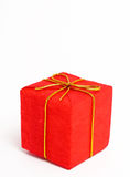 圣诞节礼品红色 免版税库存图片