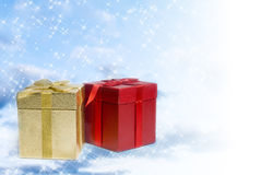 圣诞节礼品 图库摄影