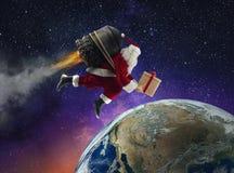圣诞节礼物交付  免版税库存图片