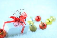 圣诞节礼物盒 免版税图库摄影