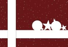 圣诞节礼物红色 皇族释放例证