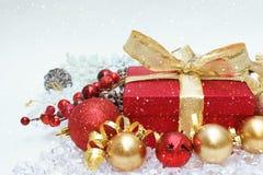 圣诞节礼物背景 库存图片