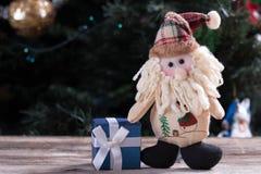 圣诞节礼物购物 免版税库存照片