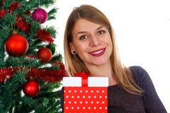 圣诞节礼物&装饰 库存图片