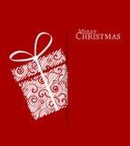 圣诞节礼物 库存例证