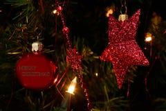 圣诞节祝愿 库存照片