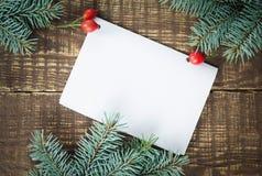 圣诞节祝贺 库存照片