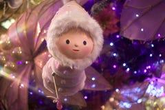 圣诞节神仙 免版税库存照片