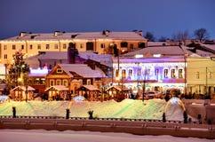圣诞节神仙在喀山,俄罗斯 库存照片