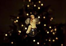 圣诞节神仙 免版税库存图片
