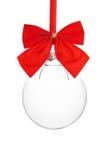圣诞节空的装饰品 免版税库存照片