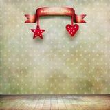 圣诞节空间 免版税库存图片