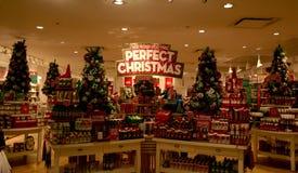 圣诞节窗口DECOATION 图库摄影