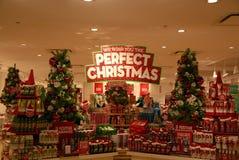 圣诞节窗口DECOATION 库存图片