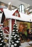 圣诞节童话装饰 免版税库存照片