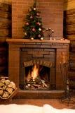 圣诞节等待 免版税库存照片