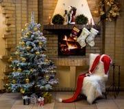 圣诞节等待 库存照片