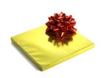 圣诞节箔存在发光的封皮 免版税库存照片