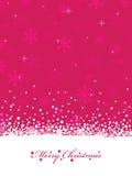 圣诞节粉红色 库存图片