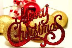 圣诞节精神、问候和喜悦 图库摄影