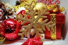 圣诞节精神、问候和喜悦 库存图片