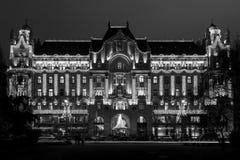 圣诞节精神在布达佩斯 免版税库存图片