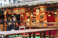 圣诞节精神在布达佩斯 库存图片