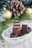 圣诞节糖果。 免版税库存图片