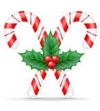 圣诞节糖果股票传染媒介例证 库存例证