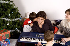 圣诞节系列时间 免版税图库摄影