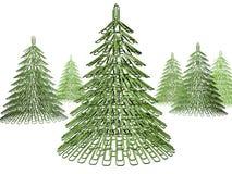 圣诞节紧固件结构树 免版税库存照片