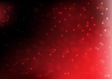 圣诞节红色背景传染媒介以图例解释者 免版税库存图片