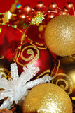 圣诞节红色 免版税库存图片