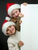 圣诞节纵向 免版税库存图片