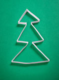 圣诞节纸结构树 库存图片