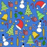 圣诞节纹理 向量例证