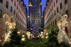 圣诞节纽约 库存照片